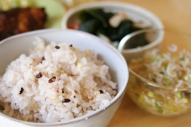 ダイエットの強い味方になる雑穀米